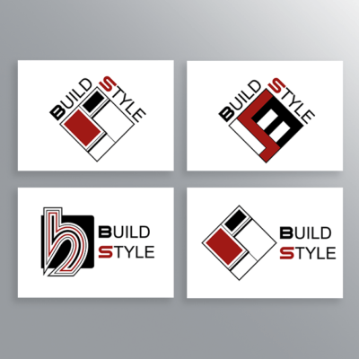 Logo Build Style-AM Design
