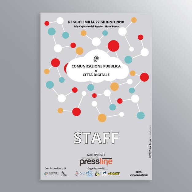 Pass STAFF Evento InnovaOff Comunicazione pubblica-AM Design