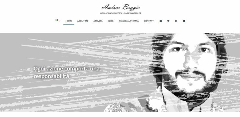 Sito Andrea Baggio iRecovery e ReputationUp-AM Design