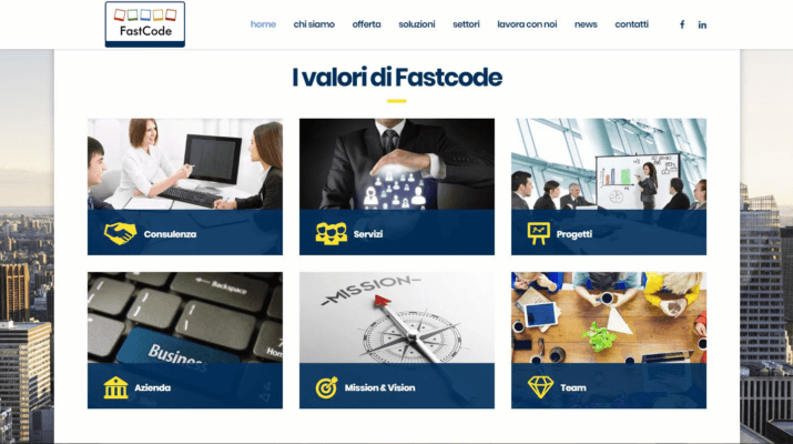 Sito Fastcode Consulting-AM Design