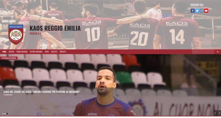 Sito Kaos Reggio Emilia Calcio-AM Design