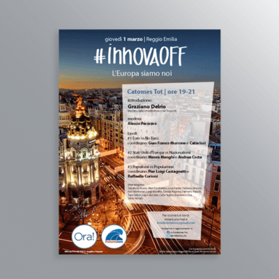 Volantino evento InnovaOff Europa-AM Design